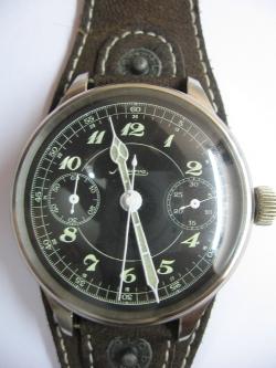 Vintage Minerva Chronograph watch 1