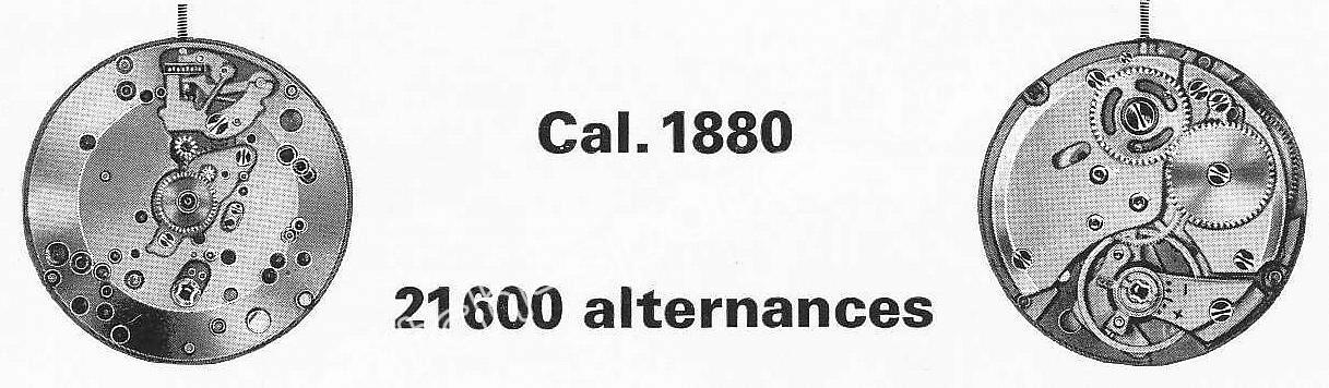 A Schild AS 1880 watch movement
