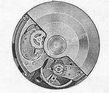 A Schild AS 1983 watch movement
