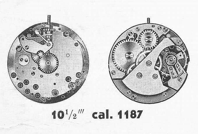AS 1187 watch movement