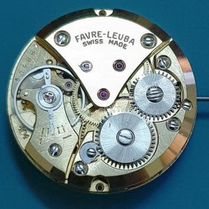 Favre leuba FL 101 watch movements