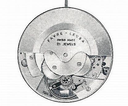 Favre leuba FL 1149 watch movements