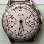 Cyma Tavannes Chronograph watch
