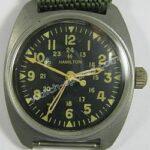 Hamilton military watch