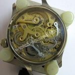 Vintage Minerva Chronograph Watch Movement