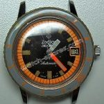 Zodiac Sea Wolf Divers Automatic Watch orange