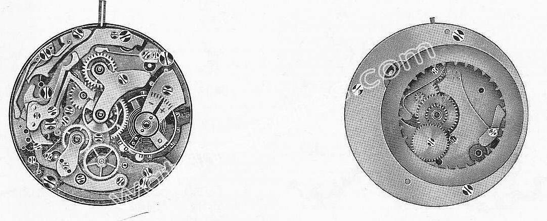 Landeron 187 watch movements