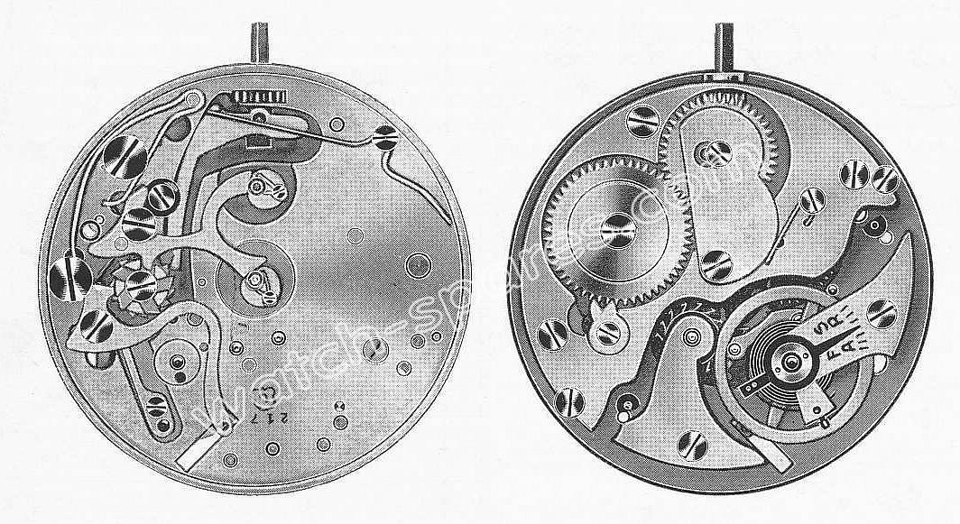 Landeron 217 watch movements
