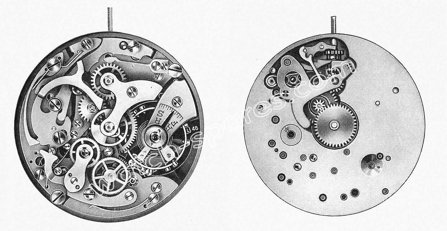Landeron 48 watch movements